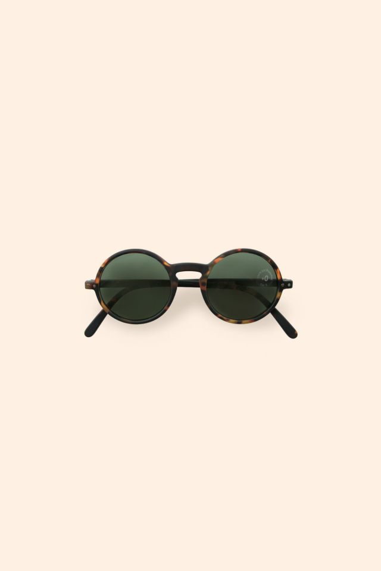 IZIPIZI ADULT G SUN Tortoise Green Lenses +0