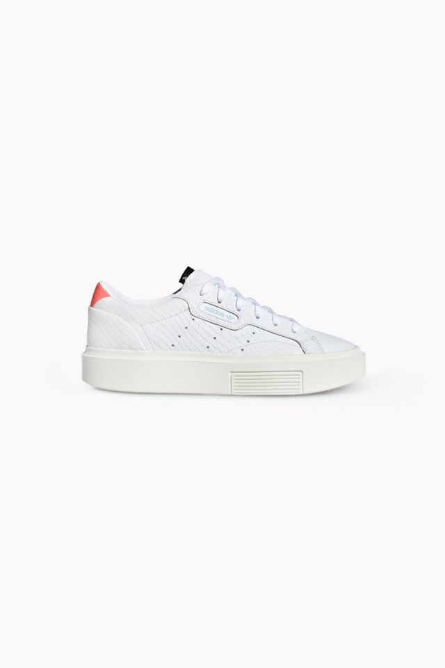 Adidas Sleek Super W - ftwr white/ftwr white/solar red N/A