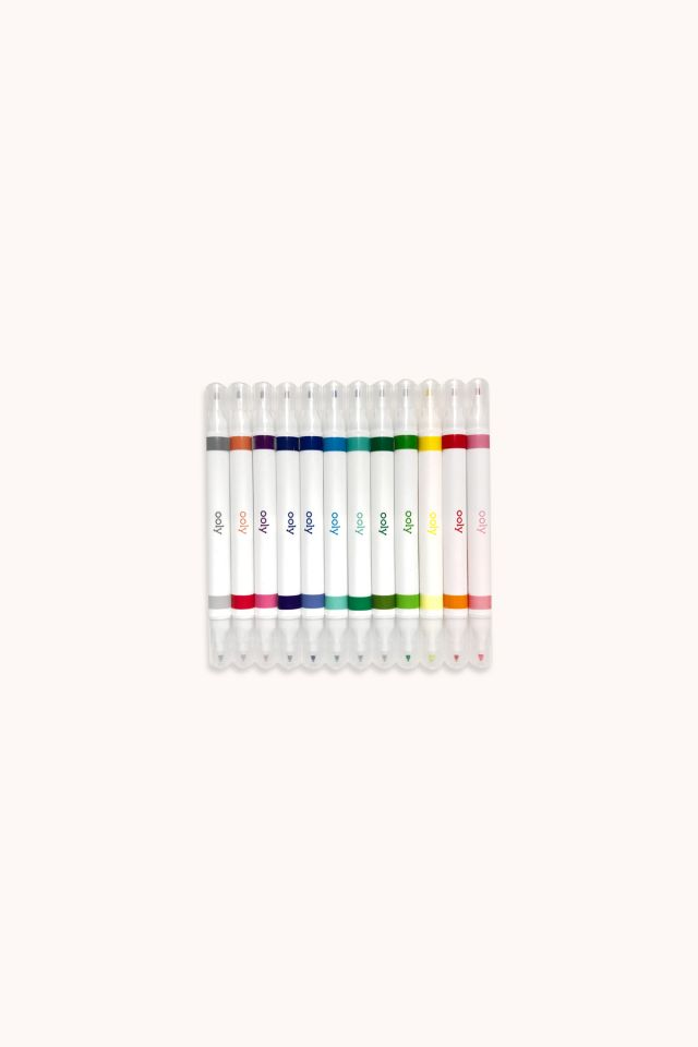 Drawing Duet Double Ended Markers - set of 12