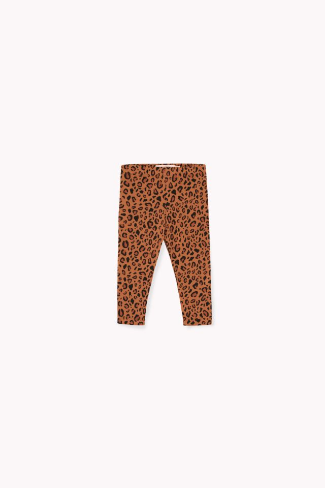 ANIMAL PRINT PANT brown/dark brown