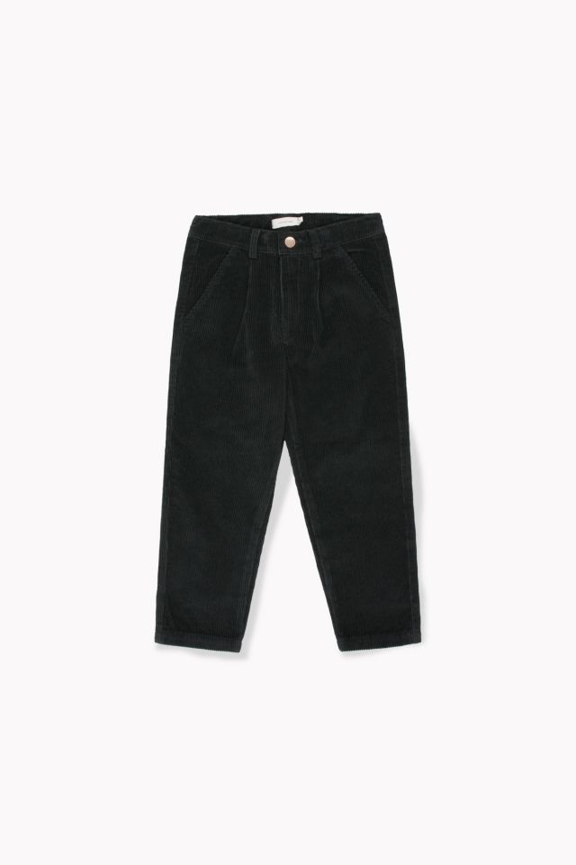 CORD PLEATED PANT