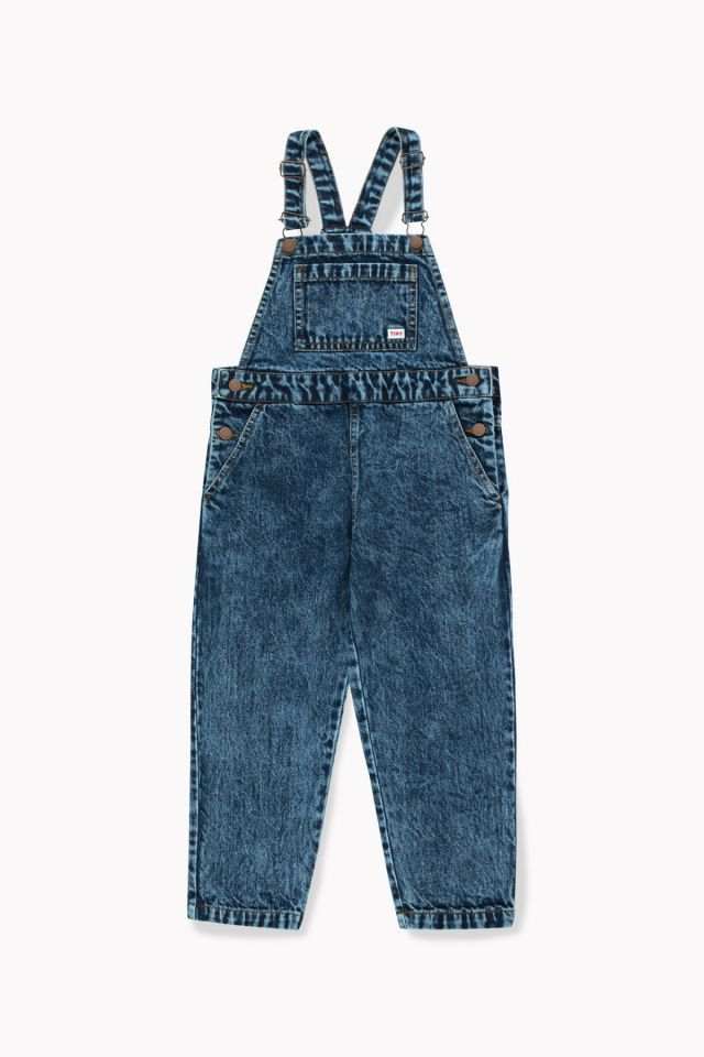 DENIM OVERALL snowy blue