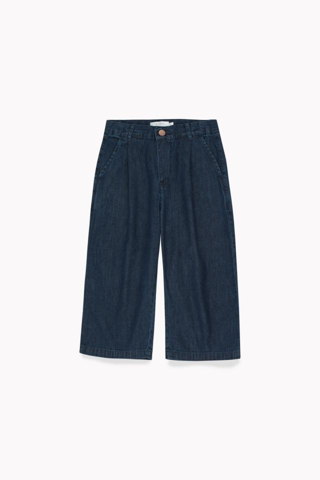 OXFORD PLEATED PANT