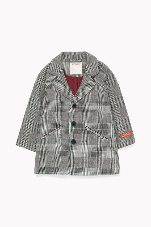 TWEED COAT multicolor