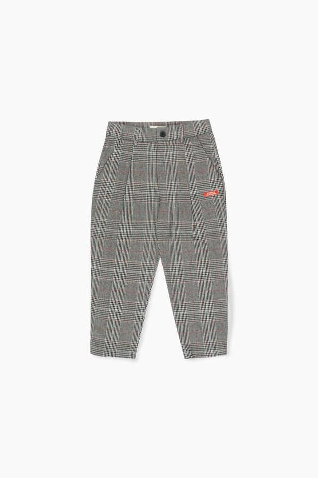 PANTALONES PLIEGUES TWEED