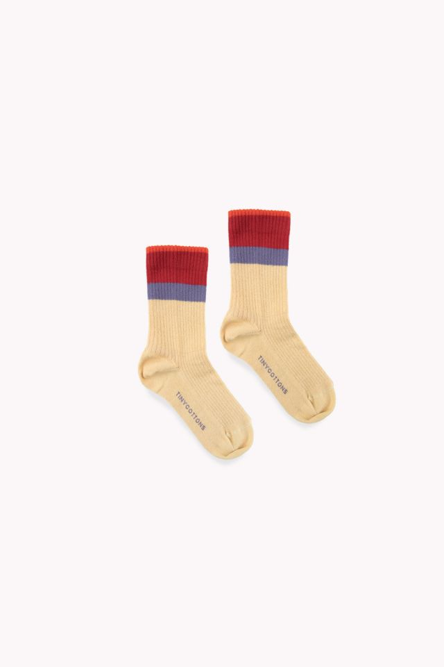 STRIPES MEDIUM RIB SOCKS