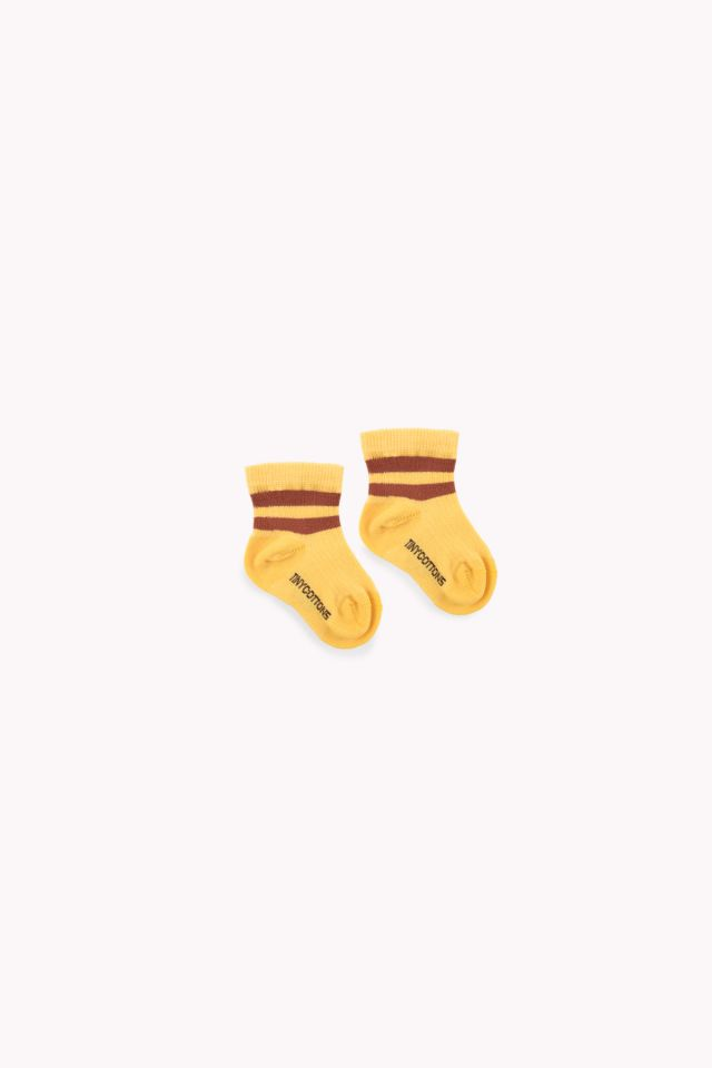 STRIPES QUARTER RIB SOCKS