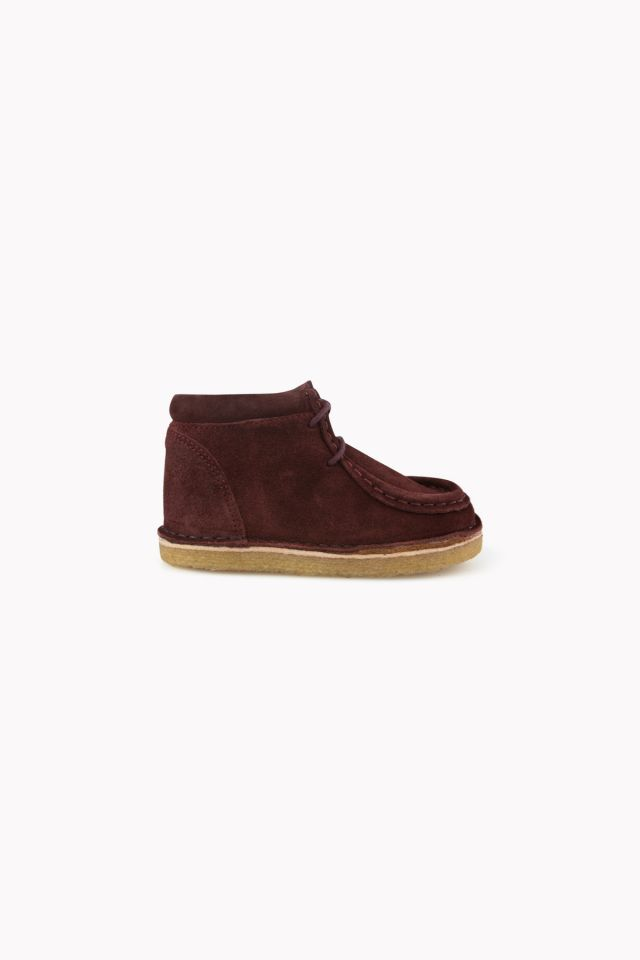 WALLABEE LEATHER BOOT