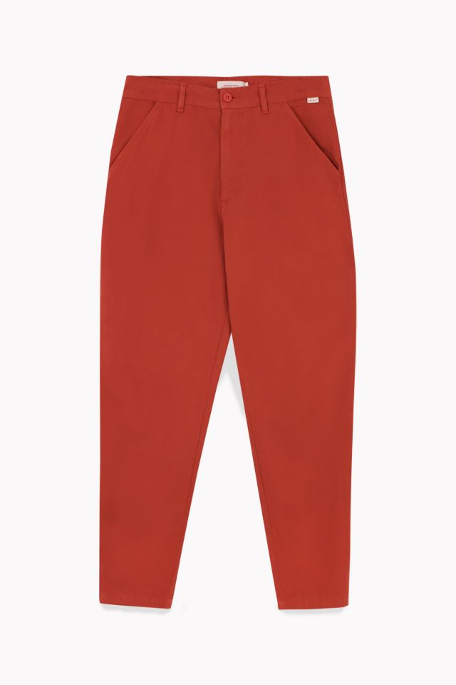 WOMAN TWILL CHINO PANT