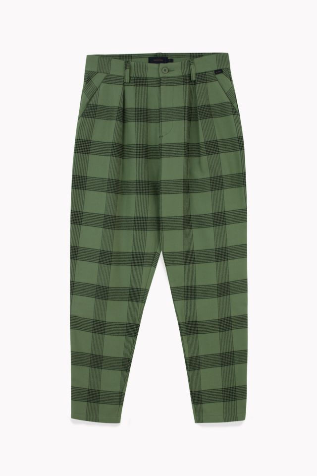 PANTALONES PLIEGUES WOMAN FLANNEL