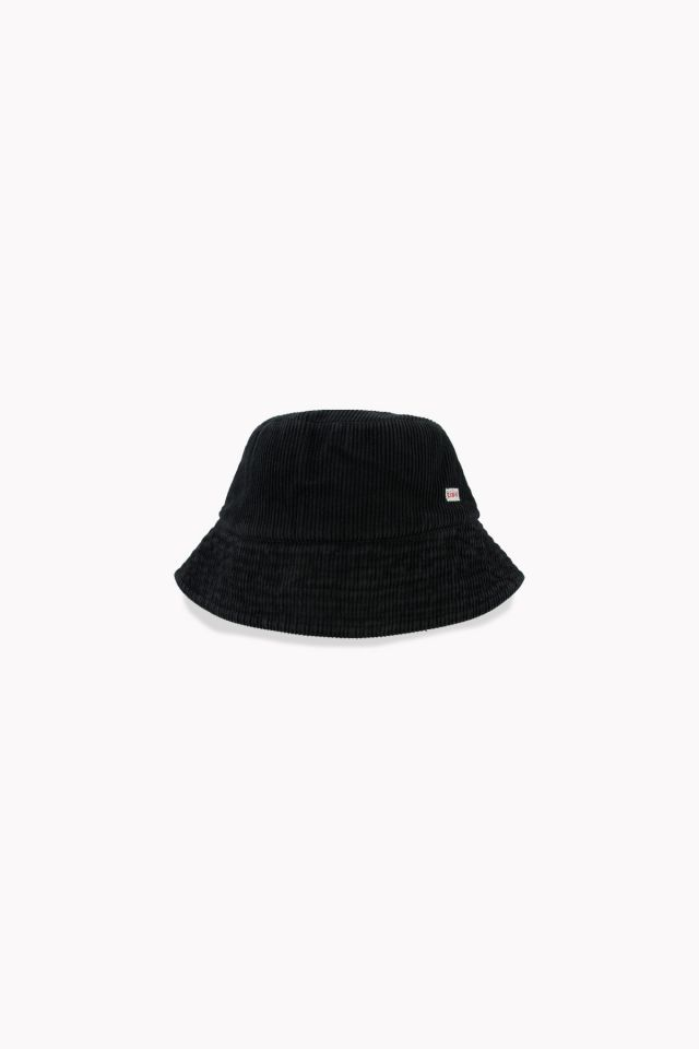 WOMAN CORD BUCKET HAT