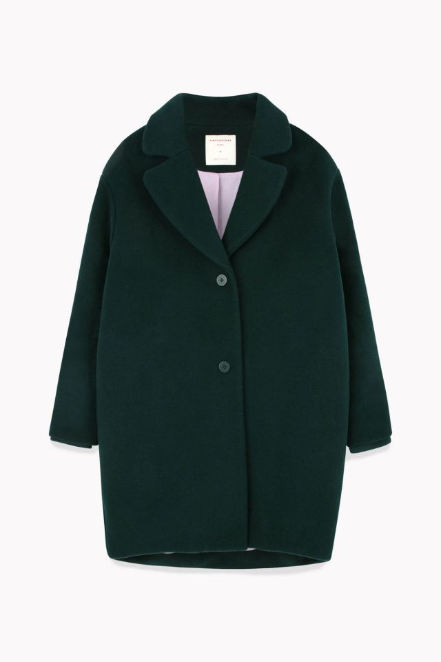 WOMAN WOOLEN COAT