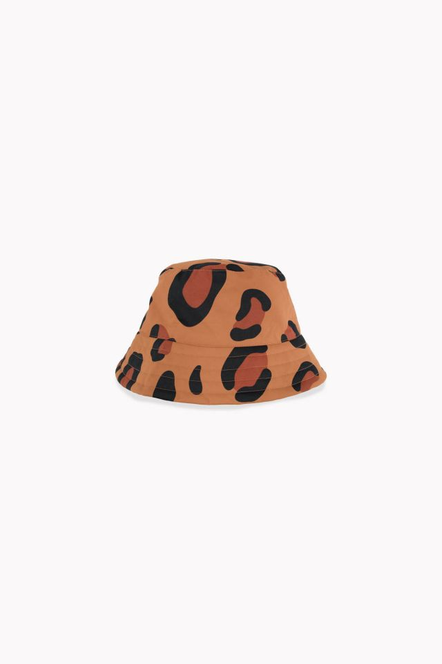 WOMAN ANIMAL PRINT BUCKET HAT