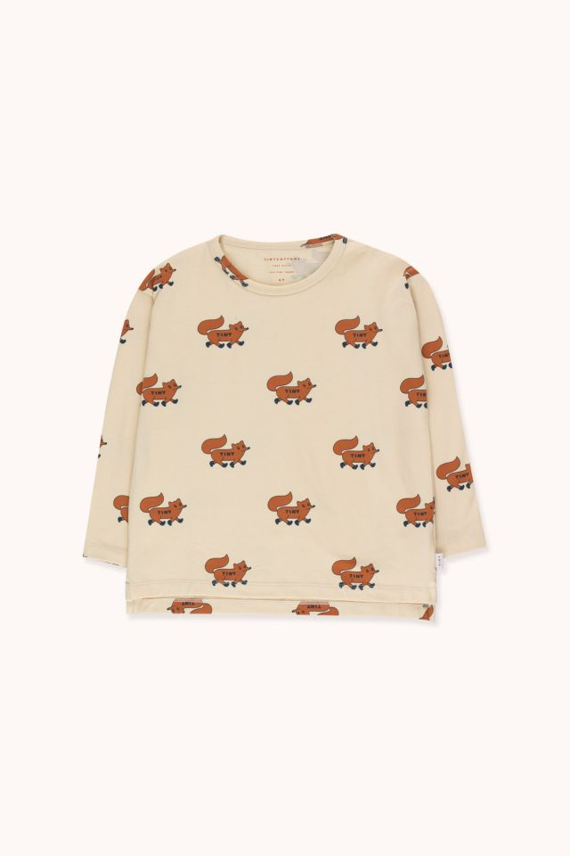 """FOXES"" TEE"