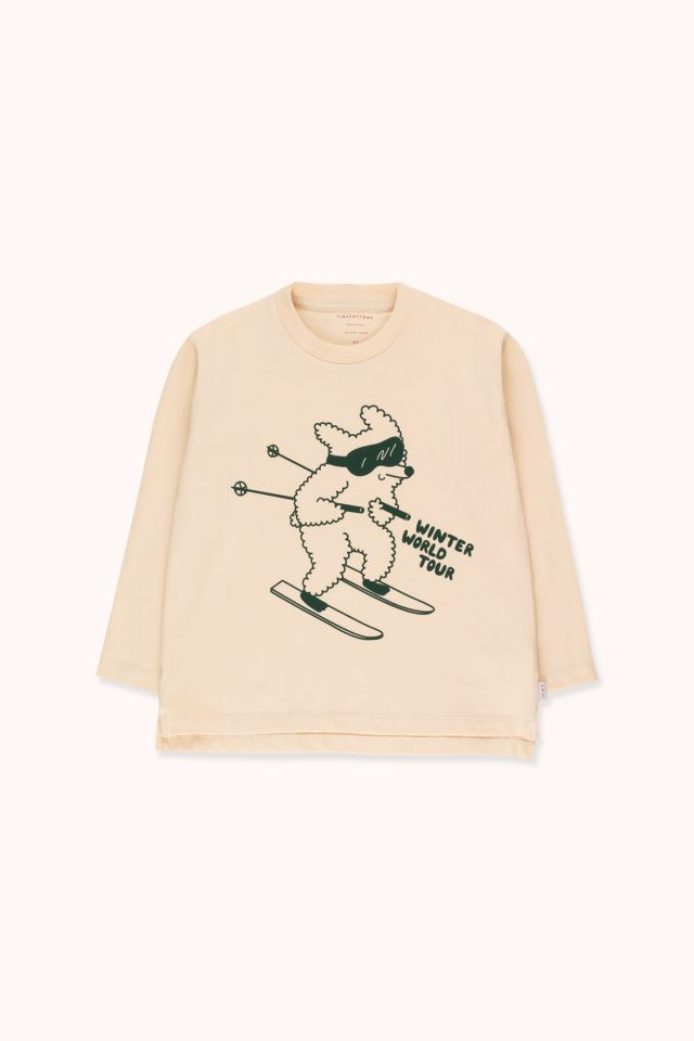 """SKIING DOG"" TEE"