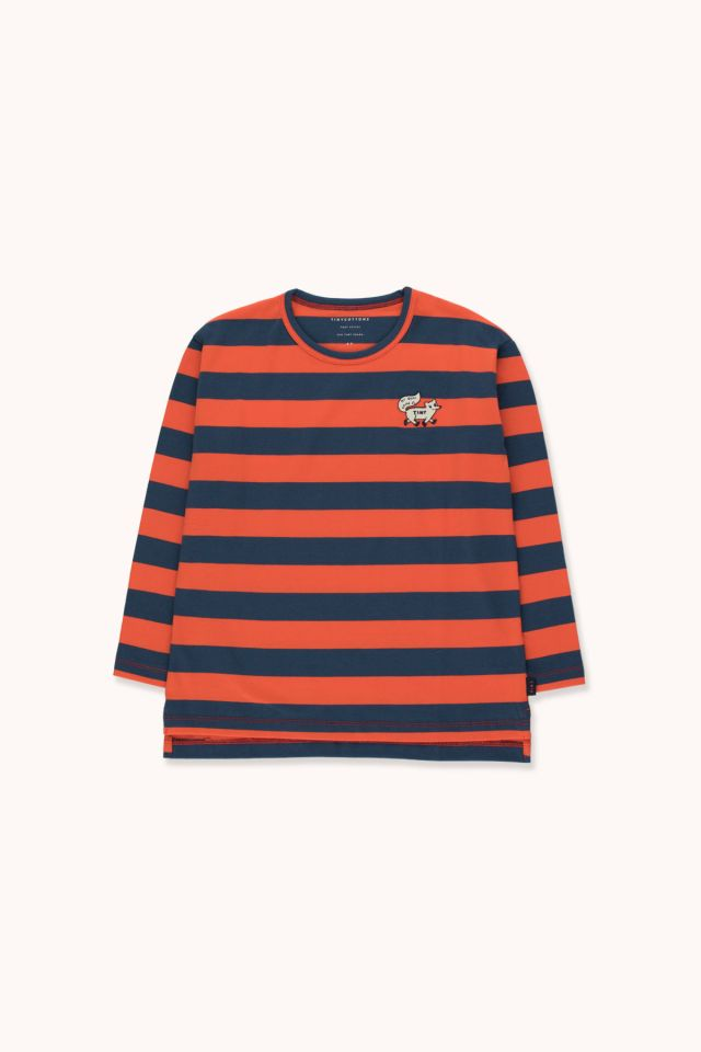 """TINY FOX"" STRIPES TEE"