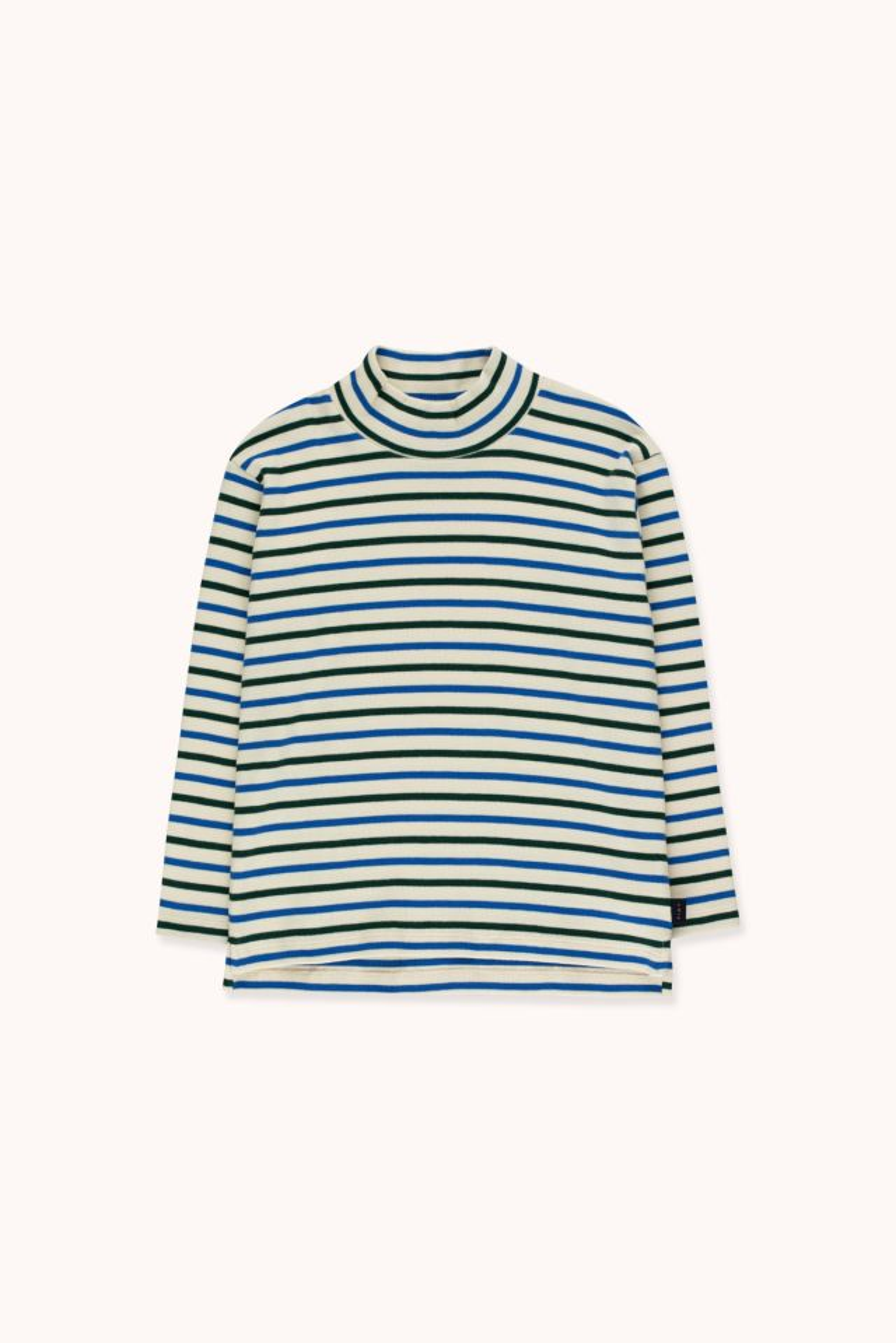 Camiseta cuello alto Stripes