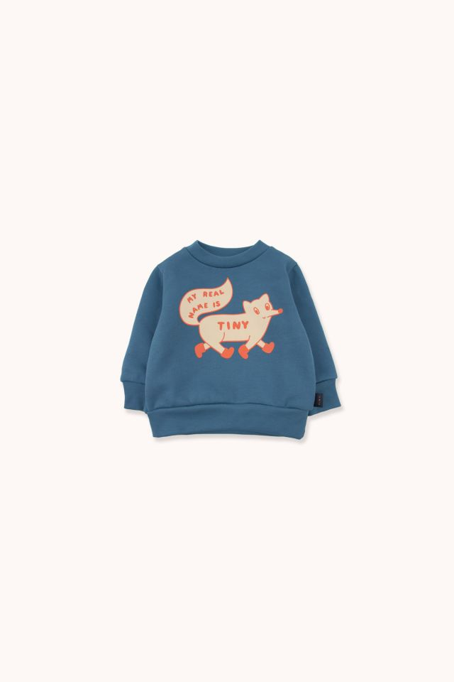 """TINY FOX"" SWEATSHIRT"