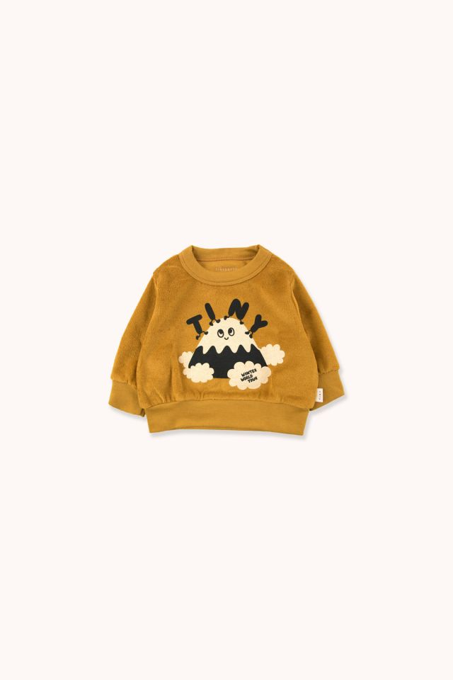 """TINY FUJI"" SWEATSHIRT"