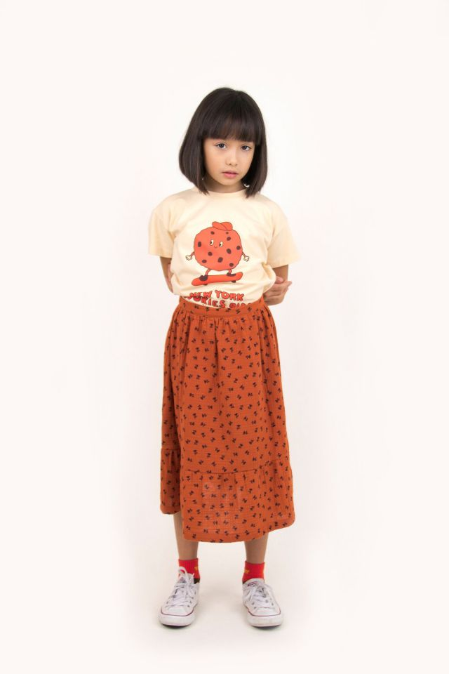 """TINY FLOWERS"" LONG SKIRT"