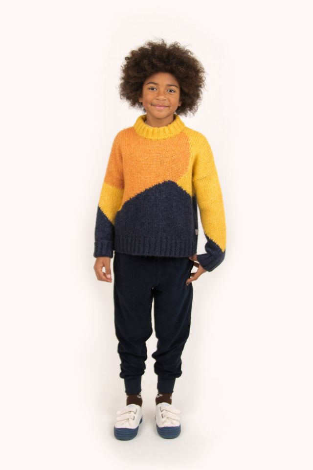 """FUJI"" COLOR BLOCK SWEATER"