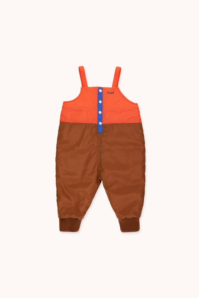 COLOR BLOCK DUNGAREE