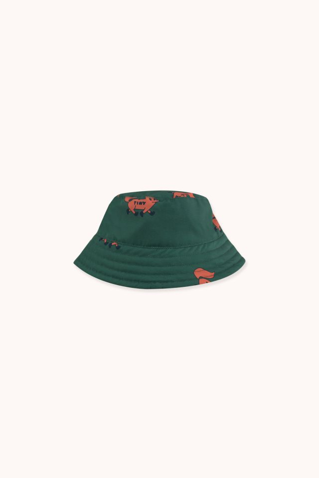 """FOXES"" BUCKET HAT"