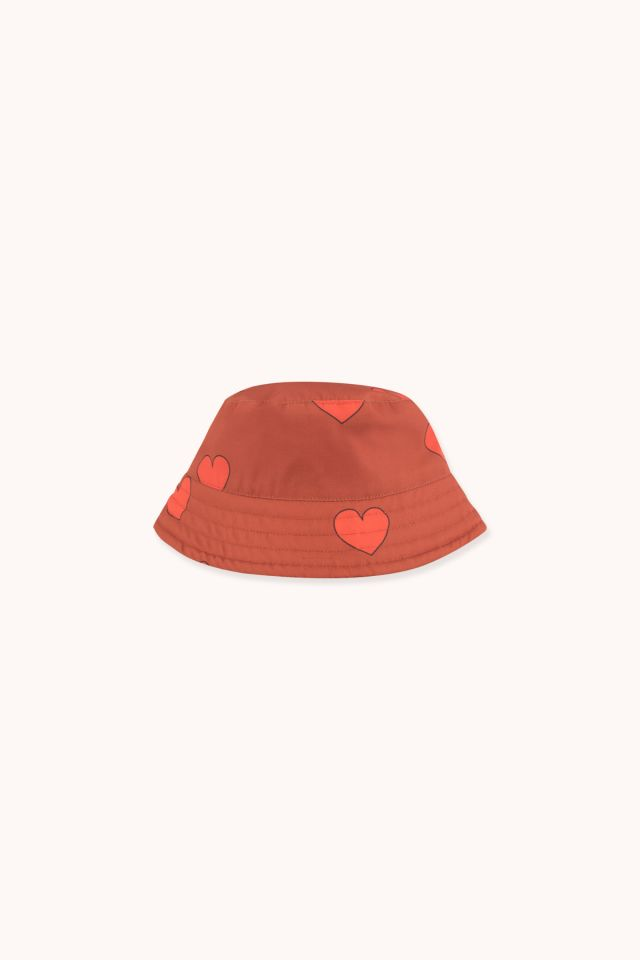 """HEARTS"" BUCKET HAT"