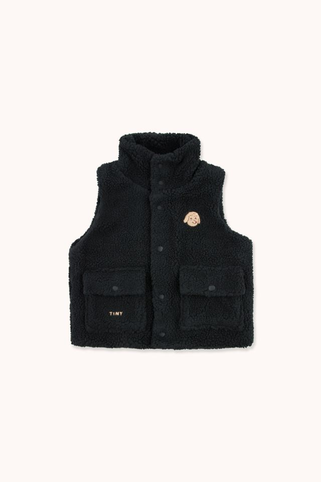 """TINY DOG"" SHERPA VEST"