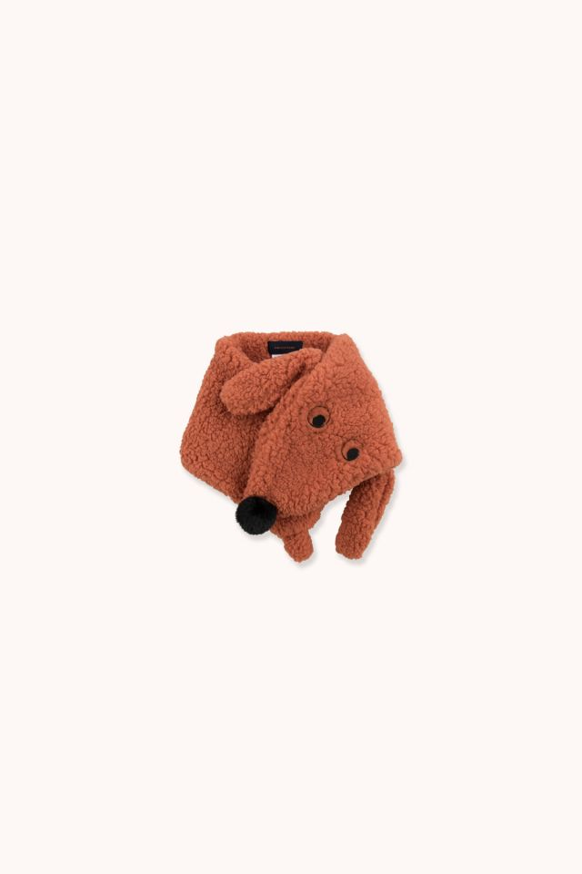 """TINY DOG"" SHERPA SCARF"