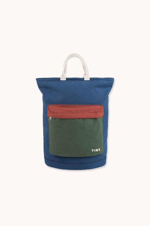 COLOR BLOCK TOTEPACK