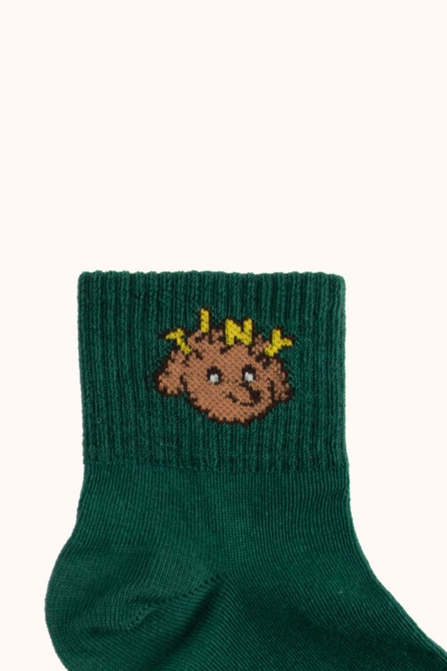 """TINY DOG"" QUARTER SOCKS"