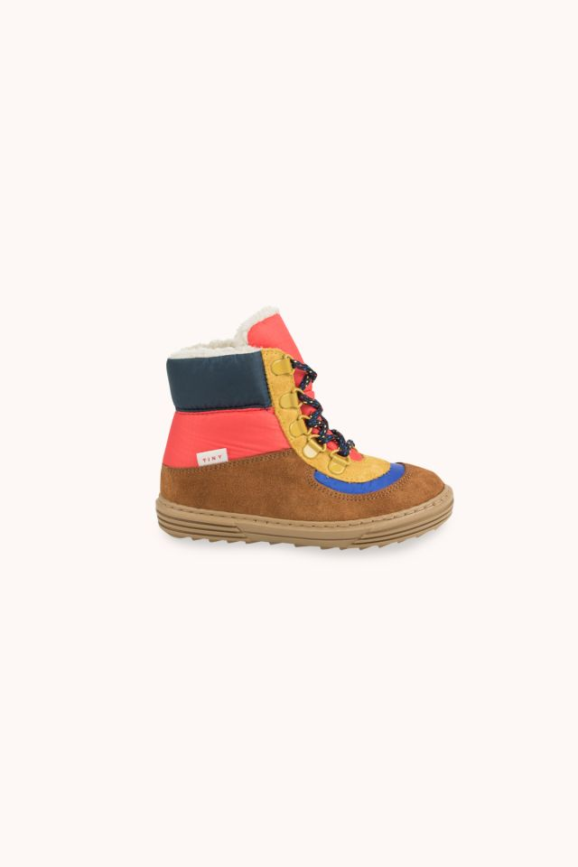 COLOR BLOCK CHUNKY BOOT