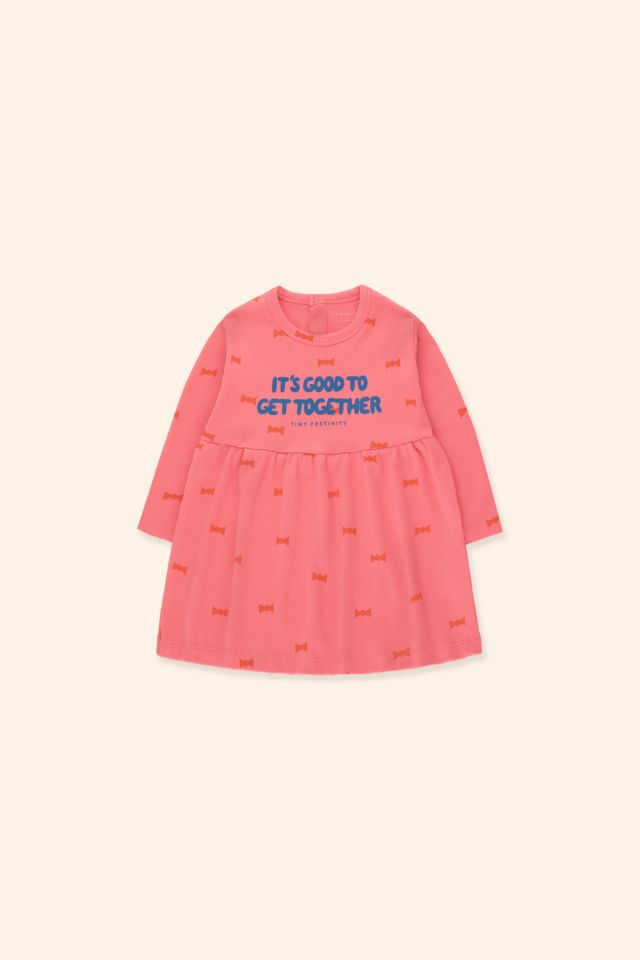 """BOW TIES"" BABY DRESS"