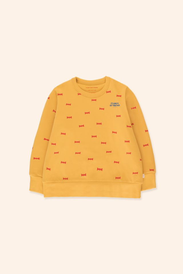 """BOW TIES"" SWEATSHIRT"