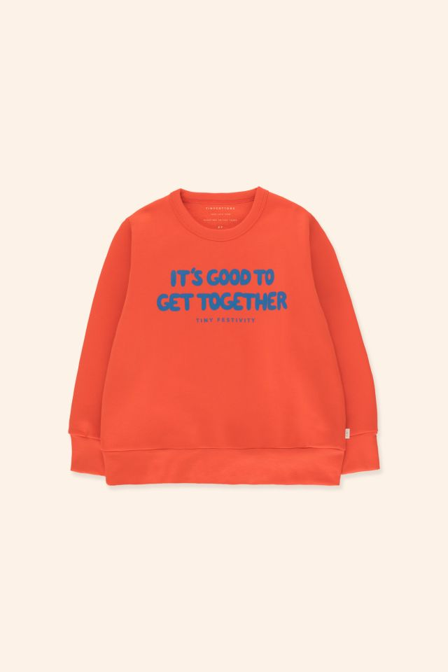 """TINY FESTIVITY"" SWEATSHIRT"