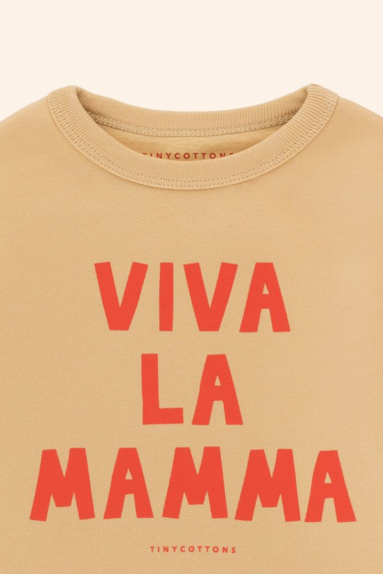 """VIVA LA MAMMA"" BABY SWEATSHIRT"