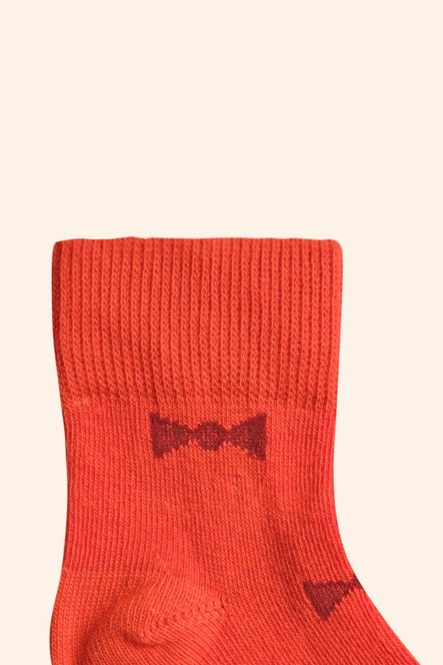 """BOW TIES"" MEDIUM SOCKS"