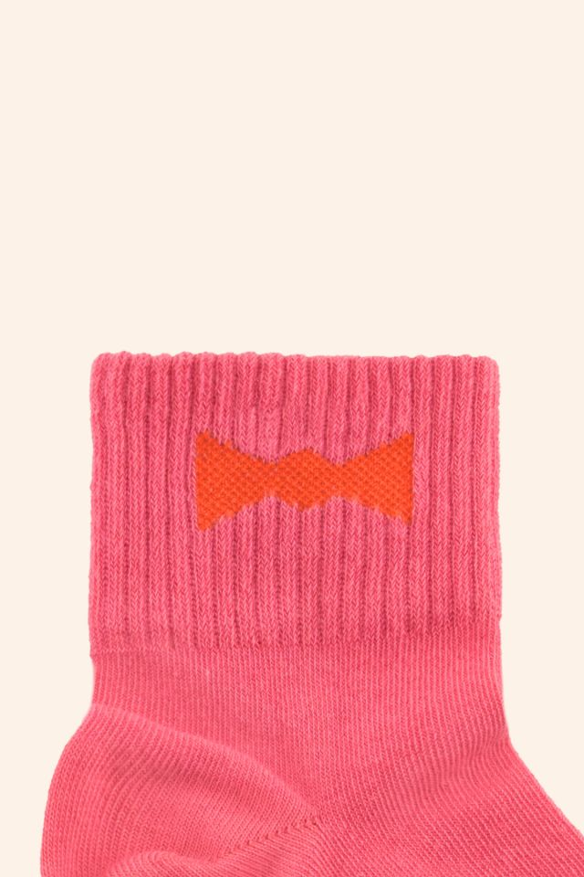 """BOW TIE"" QUARTER SOCKS"