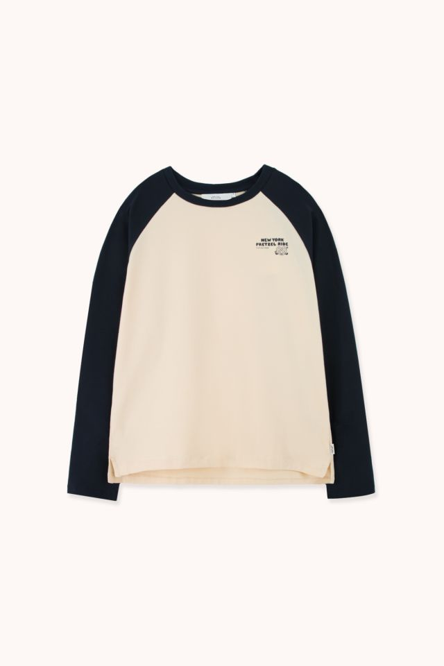 "WOMAN ""PRETZEL RIDE"" COLOR BLOCK TEE"