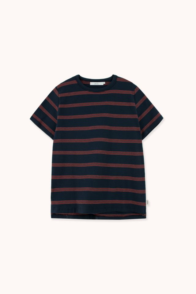 "WOMAN ""STRIPES"" RELAXED TEE"