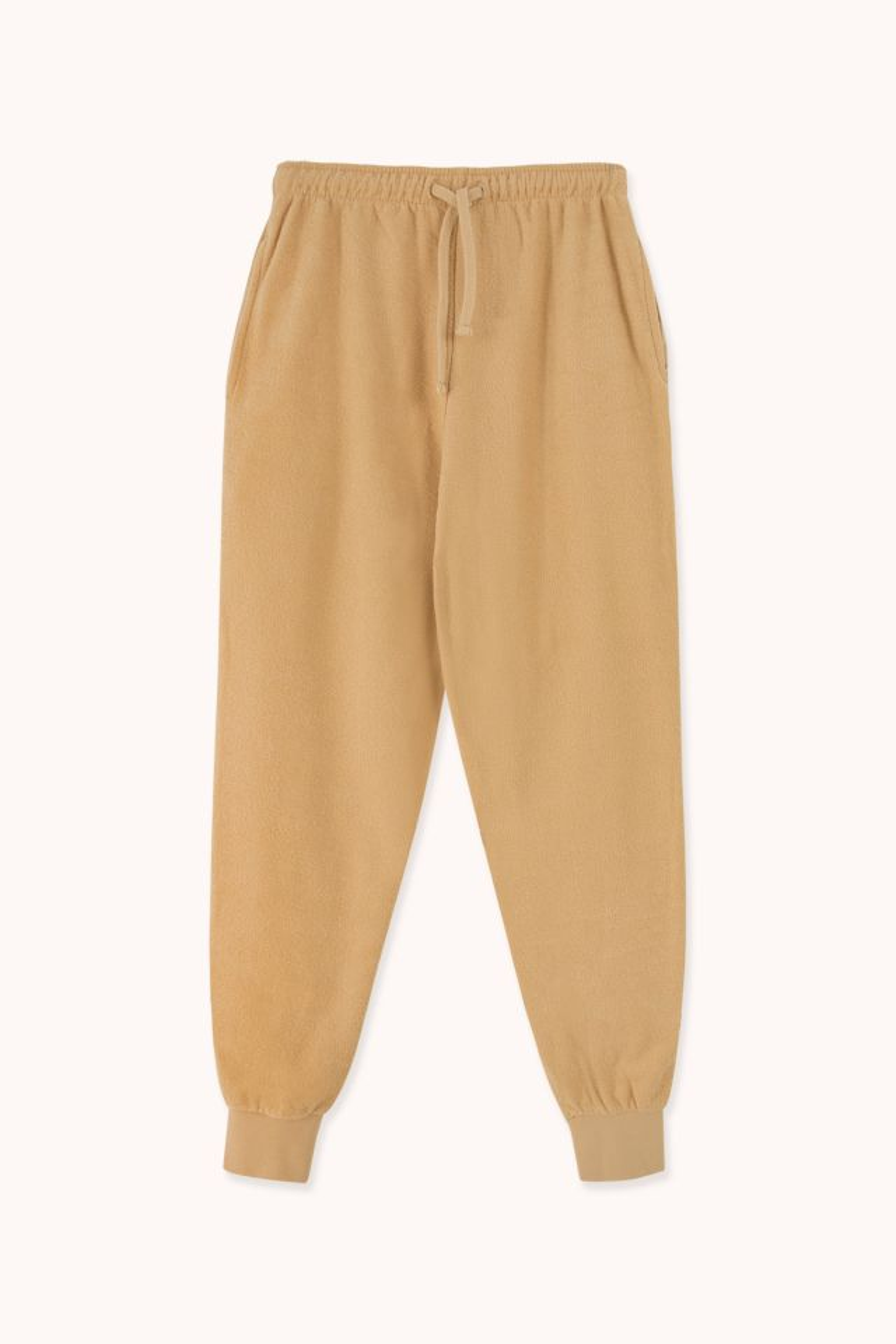 Pantalón jogger mujer toalla