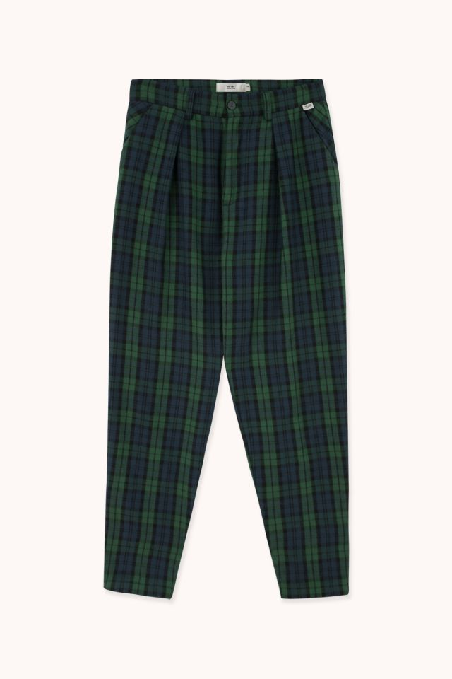 WOMAN CHECK FLANNEL PANT