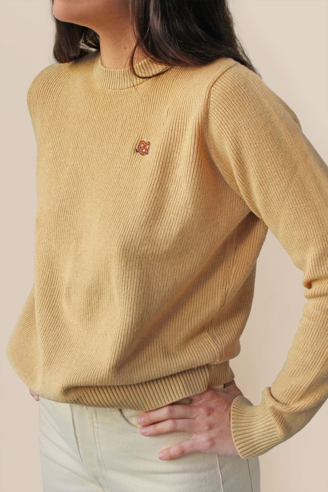 "WOMAN ""TINY PRETZEL"" SWEATER"