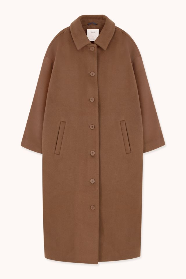 WOMAN WOOL LONG COAT