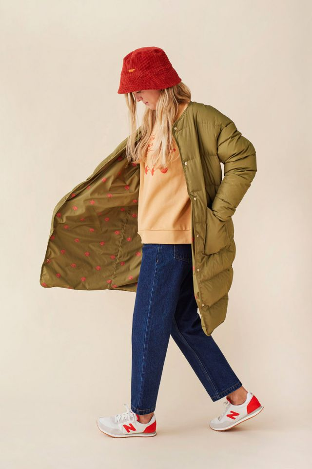 "WOMAN ""DOG"" LONG REVERSIBLE JACKET"