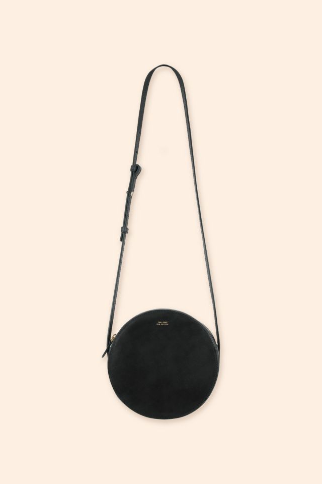 CATA LEATHER ROUND BAG