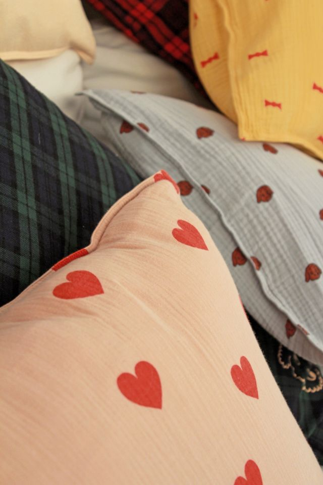 Funda almohada Hearts