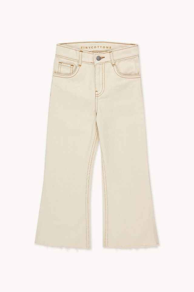 SOLID FLARED PANT