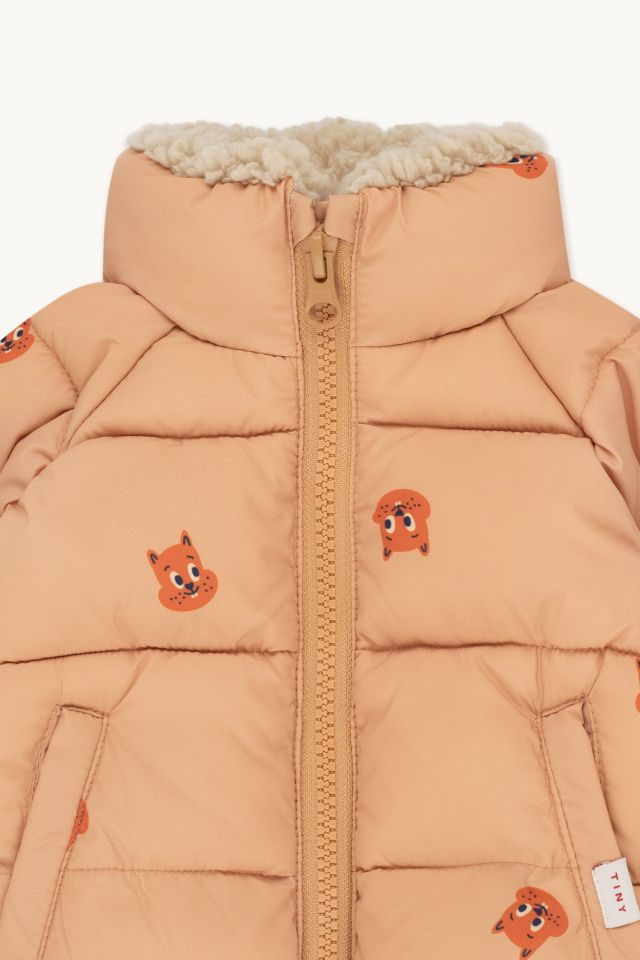 SQUIRRELS PADDED BABY JACKET